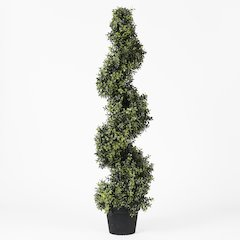 """Orchid Spiral Topiary 47""""H"""