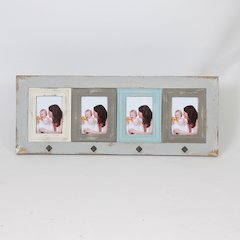"Vintage Four 5"" x 7"" Collage Picture Frame"