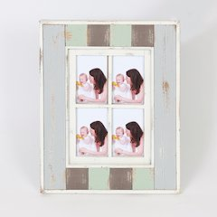 "Vintage Four 4"" x 6"" Collage Picture Frame"