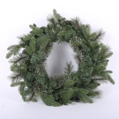 24in PE/Cashmere Wreath