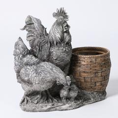 Chickens Flower Pot