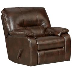 Flash Furniture Exceptional Designs by Flash Canyon Chocolate Leather Chaise Rocker Recliner