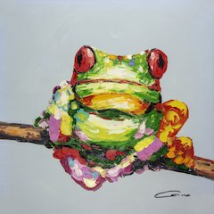 Frog Tree Wall Art