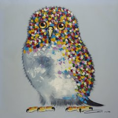Bird Multicolor Wall Art