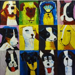 Dogs 1 Wall Art