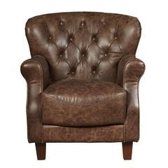 Aviation Tufted Arm Chair