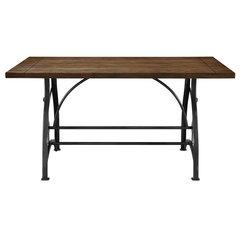Rosebank Wood & Metal Dining Table