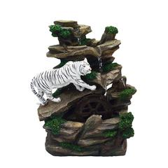 Table Fountain - White Tiger