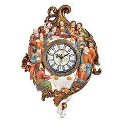 Bronze Last Supper Clock
