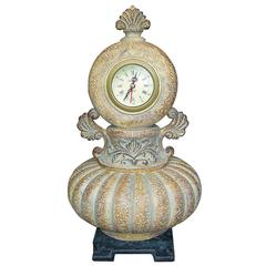 Ancient Romanesque Jewelry Box+Clock