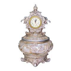 Jewelery Box With Clock