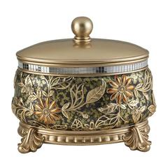 "9""H Chrysanthemum Decorative Box"