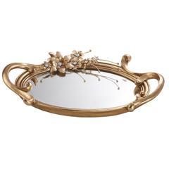 Athena Bronze Decorative Platter