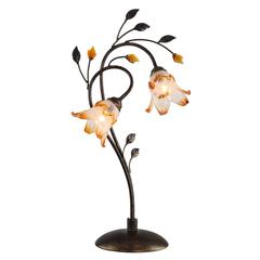 Windance Floral Table Lamp