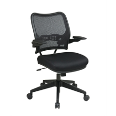 Office Star Deluxe Chair with AirGrid® Back and Mesh Seat