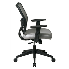 Office Star Deluxe Chair with Shadow VeraFlex®   Back and VeraFlex®  Fabric Seat