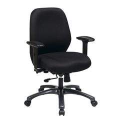Office Star 24 Hour Ergonomic Chair with 2-to-1 Synchro Tilt