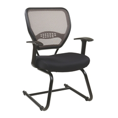 Office Star Professional Latte AirGrid Back Visitors Chair