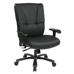 Office Star Big & Tall Deluxe Executive Leather Chair