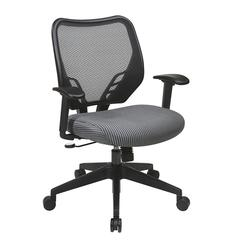 Charcoal VeraFlex® Seat and Dark AirGrid® Back Managers Chair