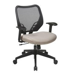 Latte VeraFlex® Seat and Dark AirGrid® Back Managers Chair