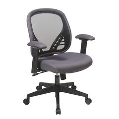 DuraGrid® Back and Charcoal Mesh Seat Managers Chair