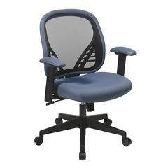 DuraGrid® Back and Blue Mist Mesh Seat Managers Chair