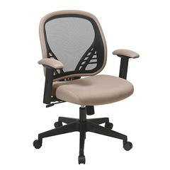 Office Star DuraGrid® Back and Latte Mesh Seat Managers Chair