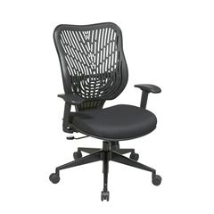 Unique Self Adjusting Raven SpaceFlex Back Managers Chair