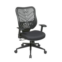 Unique Self Adjusting Raven SpaceFlex Back Managers Chair