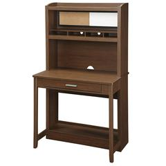 OSP Designs Alden Workstation in Light Oldwood Finish