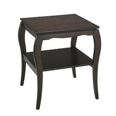 Office Star End Table in Espresso
