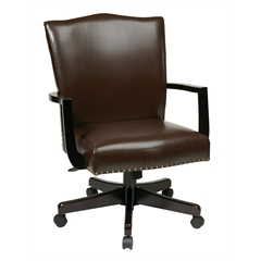 Office Star Morgan Managers Chair (Espresso)