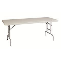 6' Height Adjustable Resin Multi Purpose Table