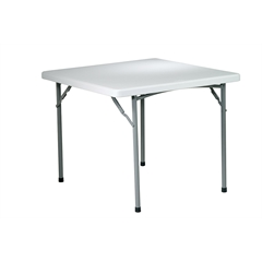 "Office Star 36"" Square Resin Table"