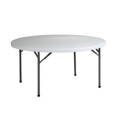"Office Star 60"" Round  Resin Multi Purpose Table"
