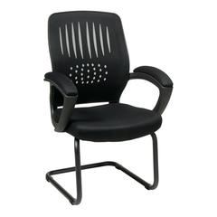 Office Star Screen Back Over Designer Contour Shell Visitor Chair