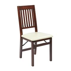 Office Star Hacienda Folding Chair 2-Pack