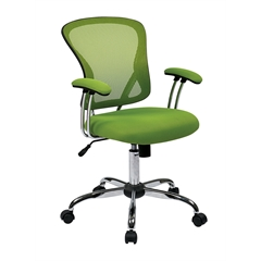 Office Star Juliana Task Chair in Green Mesh