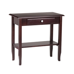 Foyer Table with Drawer & Shelf