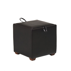 Storage Ottoman with Tray & Seat Cushion
