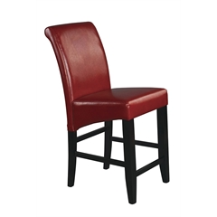 """24"""" Parsons Bonded Leather Barstool"""