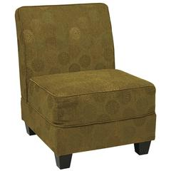 Office Star Milan Chair in Blossom Green