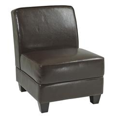 Milan Chair in Espresso Eco Leather
