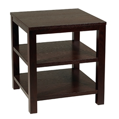 "Merge 20"" Square End Table"