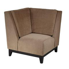 Office Star Merge Corner Chair in Easy Brownstone