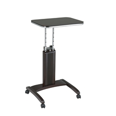 Office Star Precision Laptop Stand in Espresso Finish