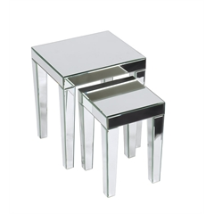 Office Star Reflections Nesting Tables
