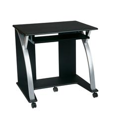 Computer Cart (Black with Silver)