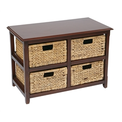 Office Star Four-Drawer Storage Unit
